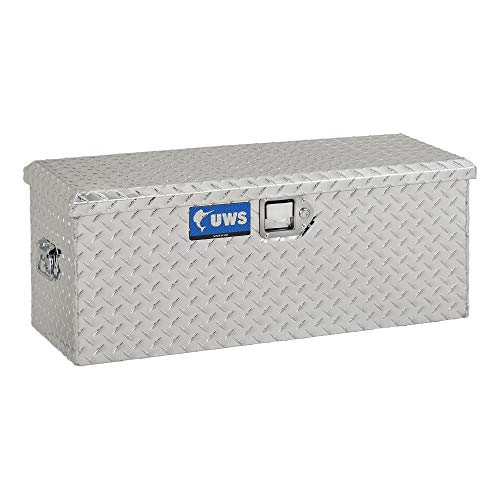 UWS EC20061 36-Inch Heavy-Wall Aluminum Foot Locker Tool Chest Storage Box, RigidCore Lid