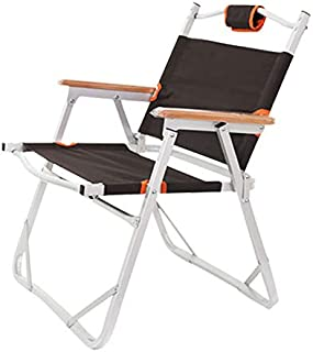 Heavy Duty Compact Camping Folding Chair, Folding Beach Chair, Fishing Outdoor Furniture Al Ultralight Chairs for Backpack...