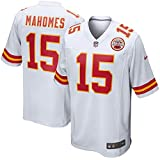 Nike Patrick Mahomes #15 Youth Kansas City Chiefs Game Jersey -White (Youth Large)