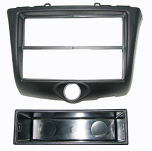 Autoleads FP-11-10 - Mascherina per autoradio da 1 DIN, specifica per Toyota Yaris, Colore: Nero