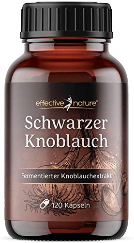 Effective Nature - Schwarzer Knoblauch...