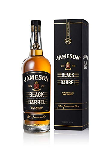 bester Test von blackwood irish whiskey Eine Mischung aus Jameson Black Barrel Irish Whiskey / Irish Whiskey und einer Jameson Irish Bottle…