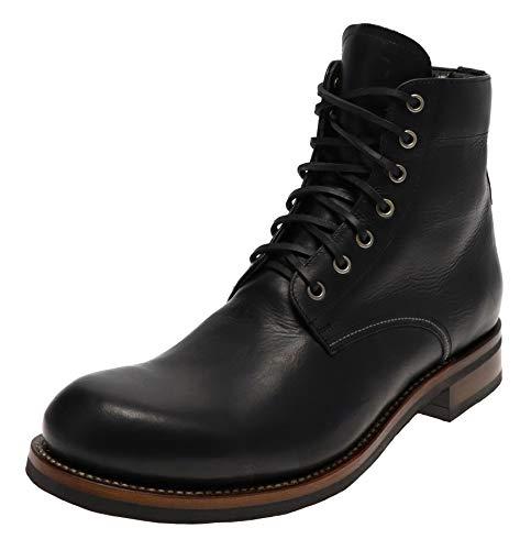 Sendra Boots Herren Boots 17324 Negro Schnürstiefel Lederschuhe Schwarz 46 EU