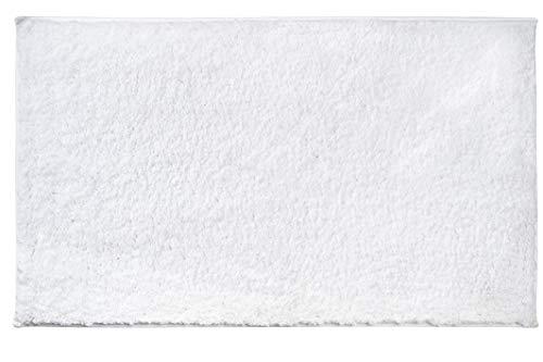 AmazonBasics Performance Bath Rug, 17' x 24', White