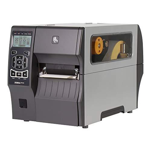 Zebra Zt410–Cd Label-Drucker (Wärmeübertragung, LCD, 203X 76, 0.058X 0.25, Code 11, Code 128(A/B/C), Code 39, Code 93, Data Matrix, EAN13, EAN8, Maxicode, QR Code, TLC39, UPC, Grau)