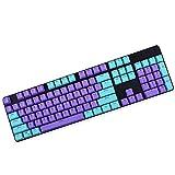KEEZSHOP Keycaps, 104 PBT Keys OEM Height Ball Carbo Tastenkappen Double Shot Backlit Tastenkappen Mechanische Tastatur für Cherry MX