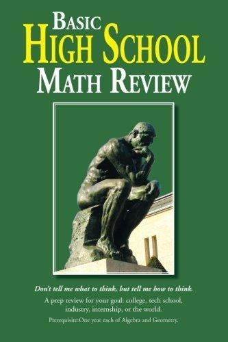 Basic High School Math Review by Elander, Jim (2013) Paperback