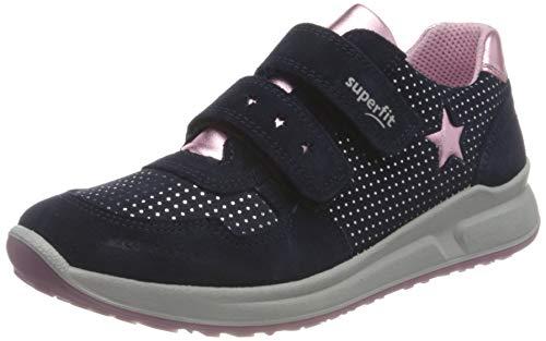 Superfit M dchen Merida Sneaker, Blau Rosa 8000, 34 EU