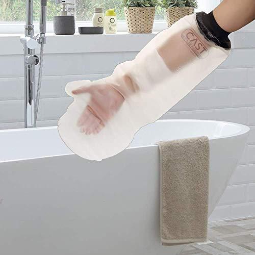 Lifeswonderful® - Schutzhülle für Gipse und Verbände - zum Duschen geeignet - Erwachsenengröße - Arm - halbe Länge