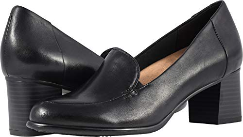 Trotters Women's Quincy Black Soft Nappa Leather 12 WW US