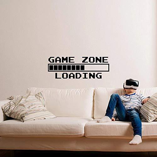 Juegos para niños zona de juegos de vinilo señal de carga área de juegos cargando pegatinas de pared