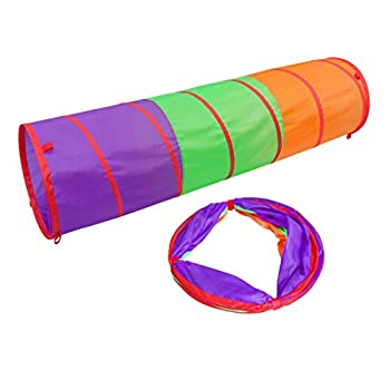 6 Foot Play Tunnel – Indoor Crawl Tube for Kids | Adventure Pop Up Toy Tent – Sunny Days Entertainment