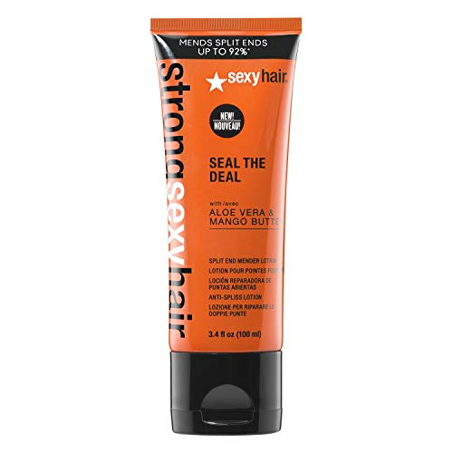 SexyHair Strong Seal the Deal Split End Mender Lotion, 3.4 Oz