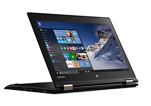 Lenovo ThinkPad Yoga 260 Convertible Tablet 12,5 Zoll Multi Touch Display 1920×1080 Full HD Core i5 256GB SSD 8GB Speicher Win 10 Pro inkl. Docking LTE (Zertifiziert und Generalüberholt)