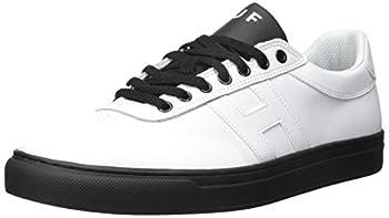 HUF Men s Soto Performance Focus Skate Shoe White/Black 13 Regular US
