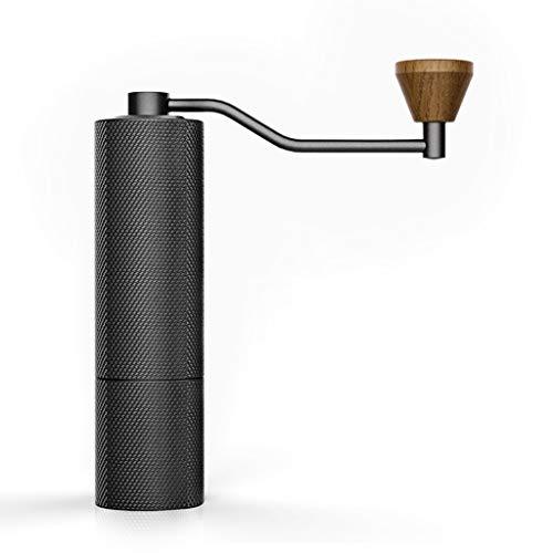 De sterkste en robuuste, draagbare kegelvormige molen, handmatige koffiemolen voor hele bonen, geschikt voor Franse persen, mini-handheld