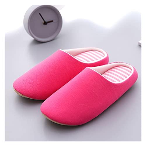 YSFQLQ Sofá Zapatillas para Mujeres Zapatillas de Interior Soft-Soft-Soft-SOFTS Sandalias Antideslizantes Sandalias de Hombre Suelas de resolución Gruesa Suela de Espeso Baño