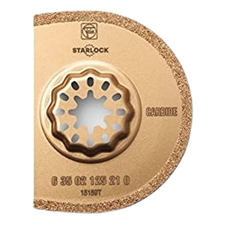 Fein 63502125230-75 mm de carburo de tungsteno hoja de sierra segmentada (paquete de 5)