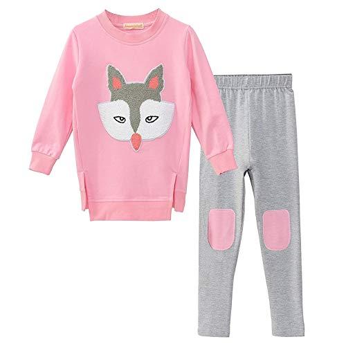 Traje de Pijamas Navideños Niños Ropa Bebe Niño Invierno Dibujos Animados Impresión Sudadera de Manga Larga Tops + Pantalones Disfraz Navidad Bebe Niña #05 Conjuntos