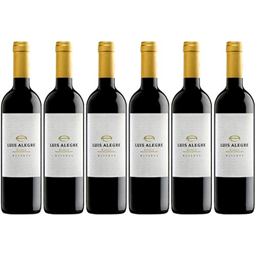 Luis Alegre Vino Tinto  - 6 Botellas - 4500 ml