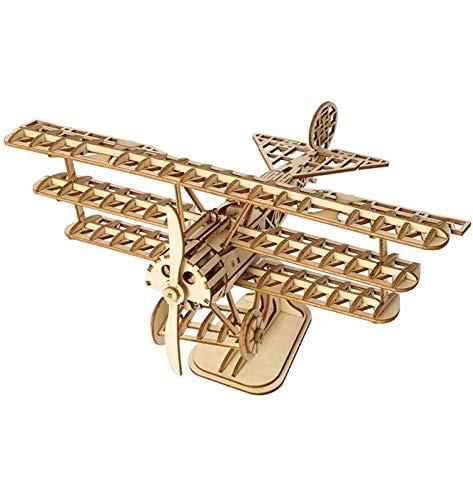 Puzzle 3D Maquetas Madera Kits Rompecabezas 3D Rompecabezas Tridimensional Kits Creativos De Modelos De Madera Para Adultos Adolescentes Y Niños - Kit De Ciencia Mecánica DIY Para Autoensamblaje