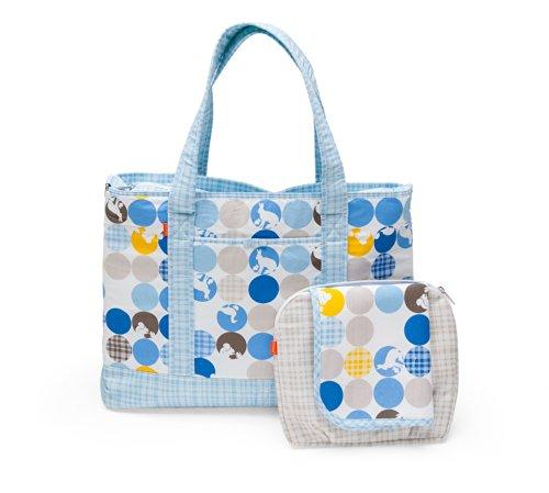 Stokke–Tasche WC® Silhouetten, Blau
