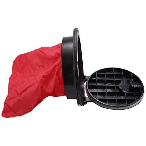 Cobeky Bolso de La Portilla Plato de Cubierta de Kayak, 8 Pulgadas - Bolsa de Almacenamiento Impermeable y Resistente Al Agua para Llaves, Gafas de, Bocadillos