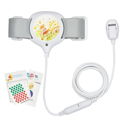 Bedwetting Alarm for Kids - Girls & Boys - Loud Sound and Strong Vibration for Deep Sleepers - Potty - coolthings.us