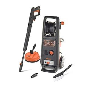 immagine di Black+Decker BXPW1800XE Idropulitrice ad Alta Pressione (1800 W, 135 bar, 440 l/h) con Patio Cleaner e Spazzola Fissa, Plus