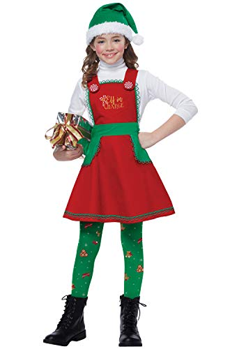 California Costumes Girls Elf in Charge Child Costume