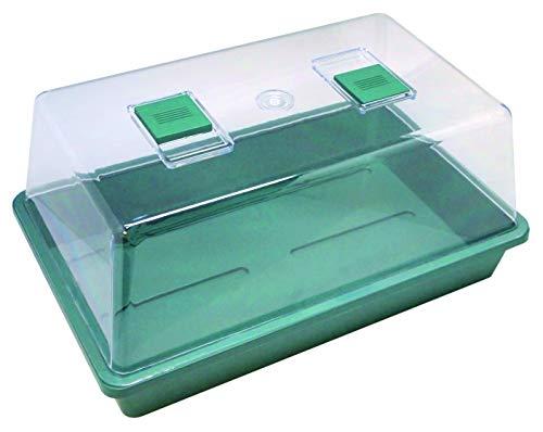 Biotop B2015B Germinador de Semillas, Invernadero Mini en Color Verde, 39 x 12 x 24 cm