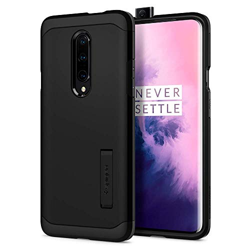 Spigen Tough Armor Designed for OnePlus 7 Pro Case (2019) - Black
