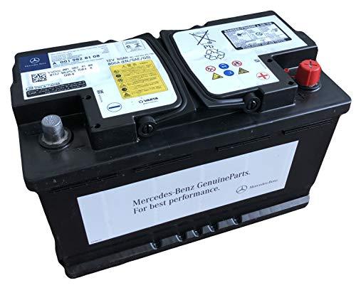 Preisvergleich Produktbild Mercedes Benz A0019828108 Autobatterie 80aH 12V 800A AGM auslaufsicher