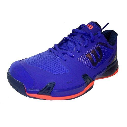 Wilson WRS323470E, Zapatillas de Tenis Hombre, Azul (Spectrum Blue / Navy Blazer / Fiery Cor), 46 EU