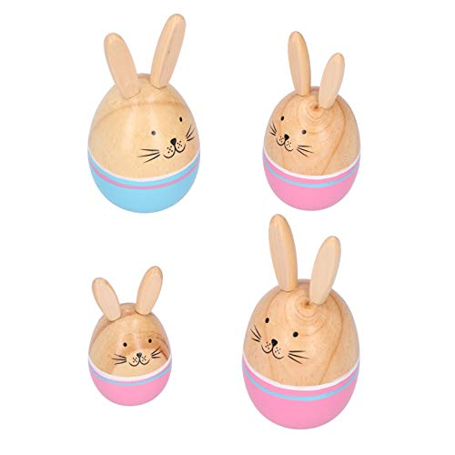 Uxsiya Handcraft Rabbit Figures, Rabbit Figures Decoration, Rabbit Family Figures, ExquisiteQ for Decoration for Appreciation