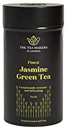 Natural Chinese Jasmine Green Loose Leaf Tea 125g Caddy