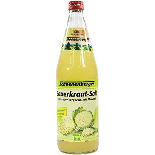 Schoenenberger Sauerkraut-Saft milchsauer vergoren, 750 ml Lösung