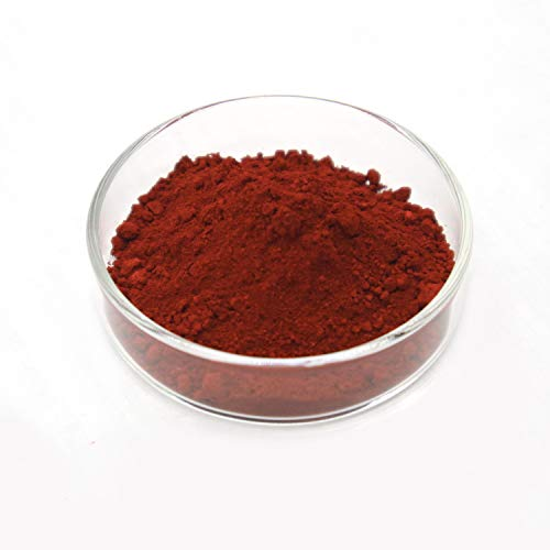 Iron Oxide Pigment - Red Powder Color Pigment for Concrete, Cement, Mortar, Grout, Plaster, Colorant, Pigment (2.2lb, Red)