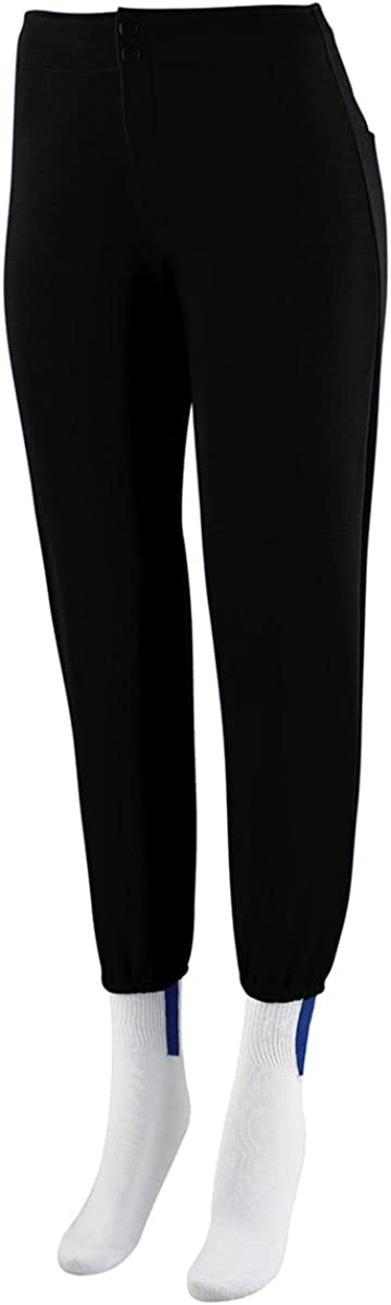 Augusta Sportswear Girl's Black Financial sales sale Small Max 86% OFF Rise Pant Softball Low