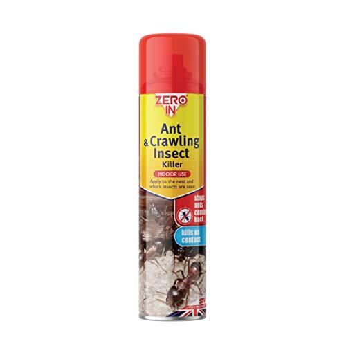 STV International Zero en Ant y Gatear Insectos Killer Spray (300ml Aerosol Pegamento, Bug Killer Tratamiento, aborda repetición plagas en el hogar)