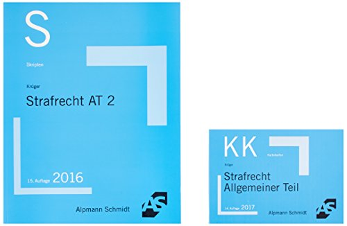 Bundle Krüger, Skript Strafrecht AT 2 + Krüger, Karteikarten Strafrecht AT