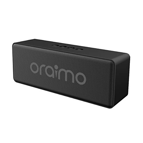 oraimo SoundPro-2C 10W Portable Wireless Bluetooth Speaker with FM Radio & AUX Input/USB Disk/TF Card Music Play Function