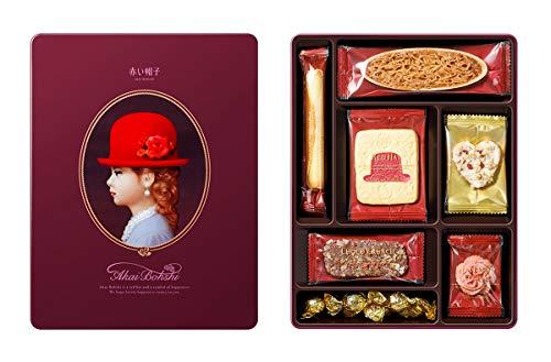 赤い帽子 パープル 122g