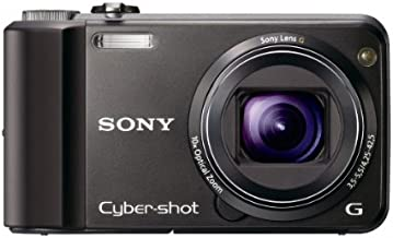 Sony Cyber-Shot DSC-H70 16.1 MP Digital Still Camera with 10x Wide-Angle Optical Zoom G Lens and 3.0-inch LCD (Black)