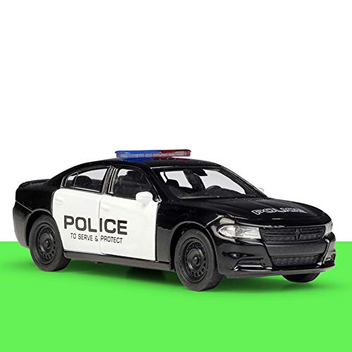 Weaston Charger Pursuit police car 1:36 Alloy Model Car Metal Die-casting Car For Boys Kids Teens And Toddler Xmas Gifts Adult Collection Ornaments Decorations