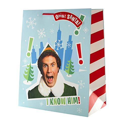 Large Elf Christmas Gift Bag from Hall