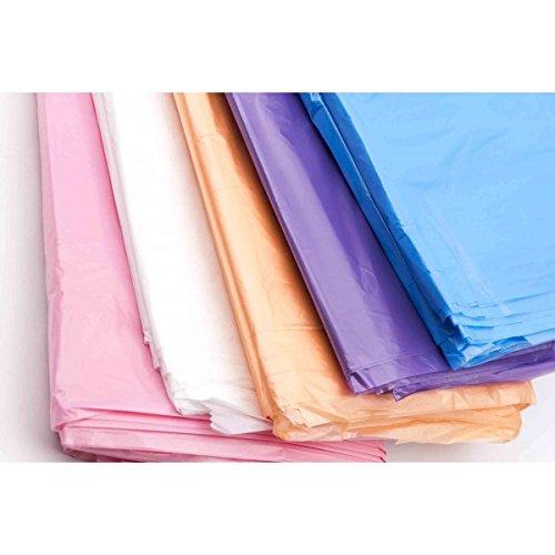 Capa de tinte desechable en polietileno, caja de 1000 unidades (rosa)