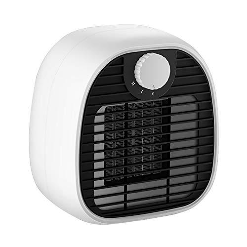 MGET - Calefacción rápida de invierno para oficina (18 x 10 x 15 cm), color blanco