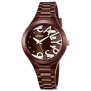 Calypso K5678/3 Reloj de pulsera analógico para mujer de plástico PUR