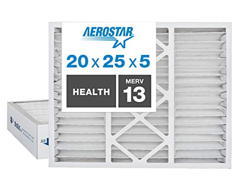 Aerostar Home Max 20x25x5 MERV 13 Honeywell...